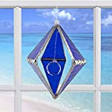 Rainbow Dancer (Cobalt Blue Crystal Rainbow Maker) Glass Prism Suncatcher