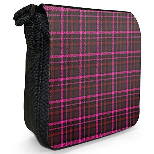 Porter Tartan A Black À Femme S Fancy amp; Pour Sac L'épaule Pink Snuggle wOn1Cq6xB