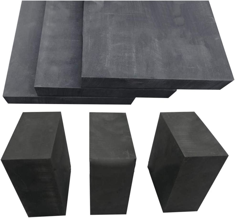 Thickness: 4MM, Length x Width: 10cm x 10cm Shanghaipop 99.9/% Pure 10x10cm Graphite Sheets Electrode Material Refractory 1-10mm Thick