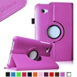 Fintie (Violet) 360 Degrees Rotating Stand Case Cover for Samsung Galaxy Tab 2 7.0 inch Tablet — Multiple Color Options, Best Gadgets