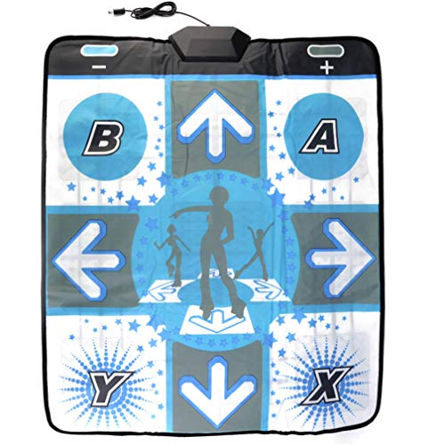 (OSTENT Non-slip Dance Pad Dancing Mat for Nintendo Wii Gamecube NGC Console Dance Revolution DDR Video Games)