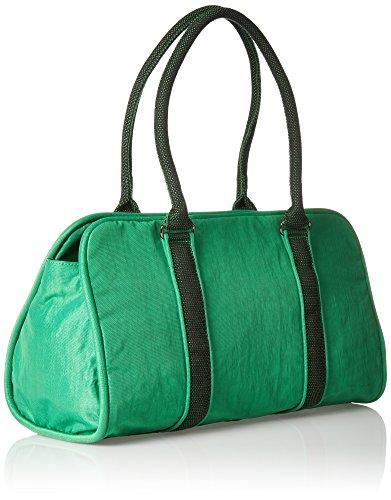 Kipling Bex - Bolsos maletín Mujer Verde (Wild Greeny)