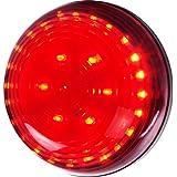 Stalwart  30 LED Magnetic Emergency Flasher , Red