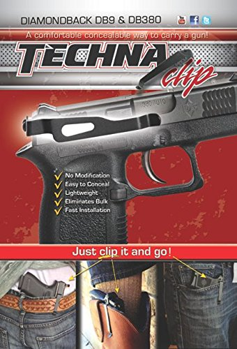 Techna Clip Conceal Carry Belt Clip - Diamondback DB9/DB380 (Right-Side) from Techna Clip