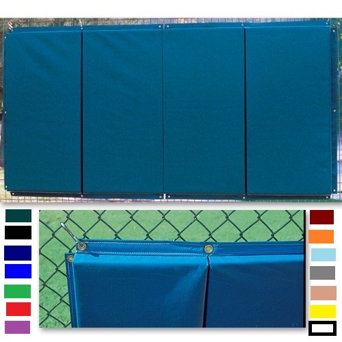 Standard Folding Backstop Padding (4ft x 8ft) Color: Black