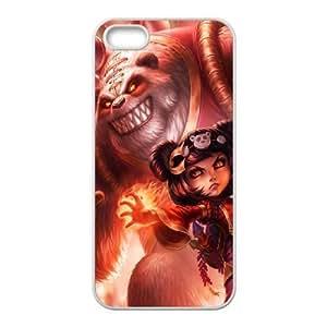 iPhone 5, 5S Phone Cases League of Legends Annie Durable Design Phone Case HYT397975