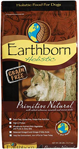 Earthborn Holistic Primitive Natural Grain Free Dry Dog Food, 28 Lb. ()