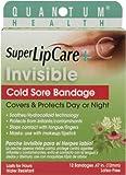 Quantum Health Super Lipcare Plus Invisible Cold Sore Bandage, 12 Count