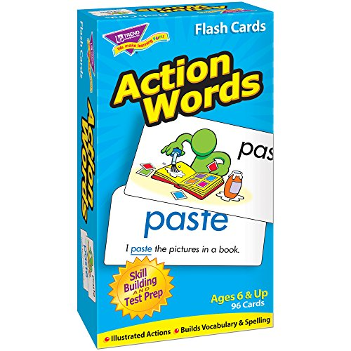 TREND enterprises, Inc. Action Words Skill Drill Flash Cards from TREND enterprises, Inc.