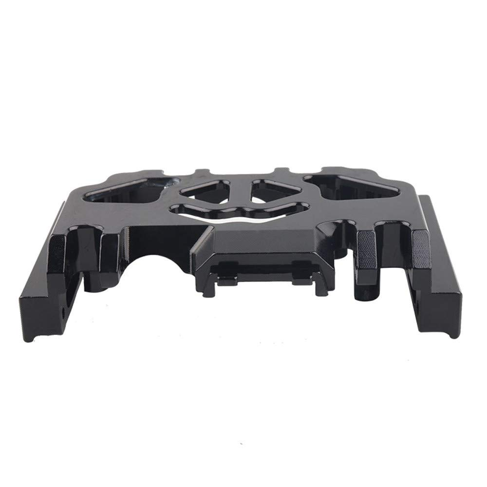 TRX-4 82056-4 Wave Box Chassis Cobweb Structural Hollowing Dissipate Heat Piece Wave Box Chassis fit Vehicles & Remote Control Toys (Black)