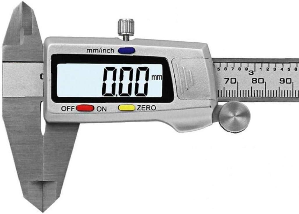 Lankater Outil De Mesure Inoxydable /Étrier Num/érique en Acier 6 /« 150mm Messschieber Paquimetro Instrument De Mesure Calibres Vernier