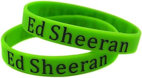 Luziang Vendita di Super Star Bracciali di Silicone ED Sheeran per Adulti e Bambini
