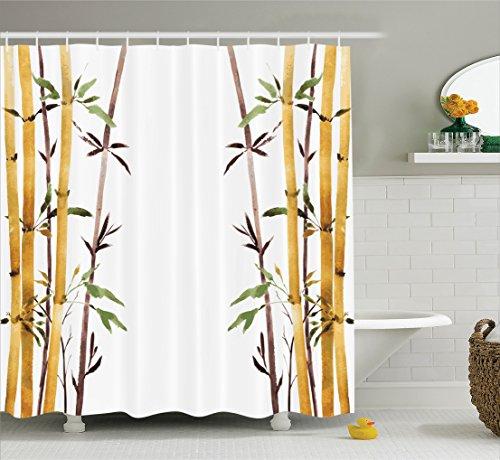 Bamboo Shower Curtain | Bamboo Shower Curtain Overview