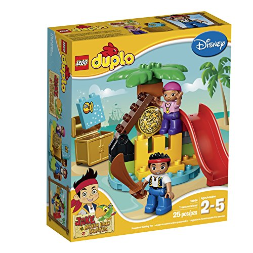 LEGO DUPLO Jake 10604 Jake and the Never Land Pirates Treasure Building Kit