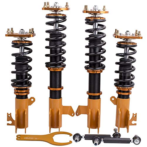 Coilovers Kit Adj. Height for Mazda 323 Protege Ford 1999-2003 1.8L 2.0L Shock Absorbers Struts