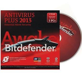 Bitdefender Antivirus PLUS 2013 3 PC OEM