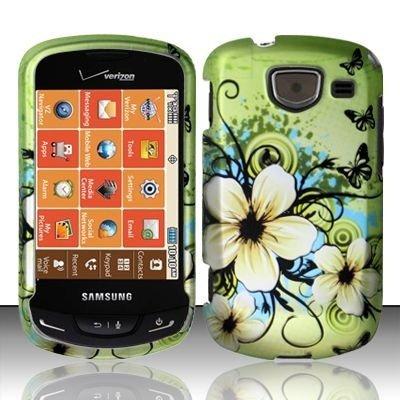 For Verizon Samsung Brightside U380 Accessory - Green - Samsung Brightside Covers