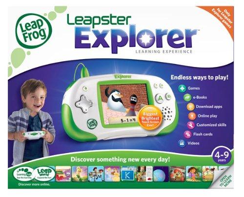amazon com leapfrog leapster explorer learning game system green rh amazon com leapfrog leapster explorer user manual Leapster 2