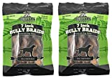 Redbarn 7-Inch Braided Bully Sticks (2-Pack) For Sale