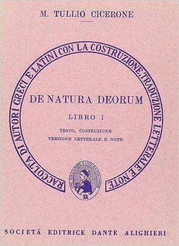CICERONE DE NATURA DEORUM PDF