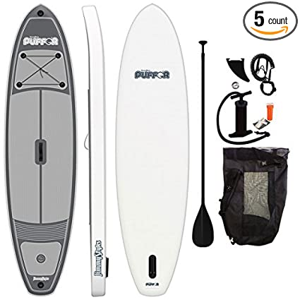 Amazon.com: Puffer hinchable paddle board: Sports & Outdoors