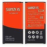 Galaxy S5 Battery, SUNZOS 3200mAh Li-ion