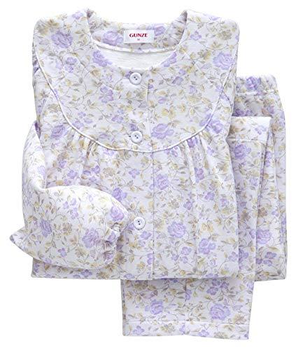 [군제] 잠옷 어깨 허벅지 W 보온 긴팔 긴 바지 소프트 퀼트 / 발열 니트 가제 여성