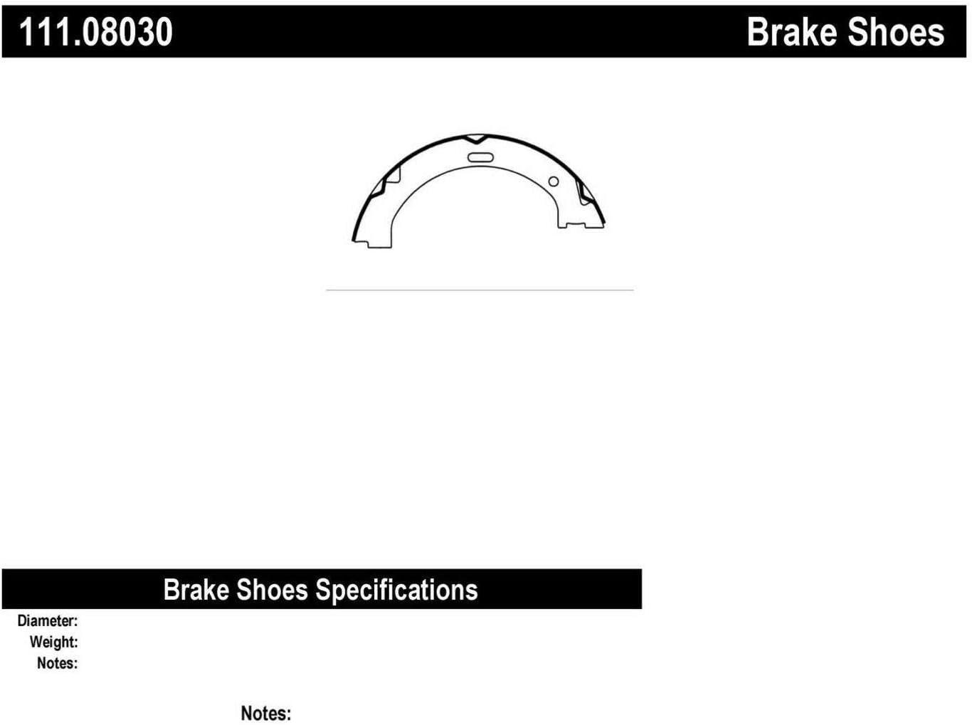 Centric Parts 111.03320 Brake Shoe