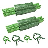 Evelots 80 Piece Gentle Plant & Flower Clips For Supporting Stems