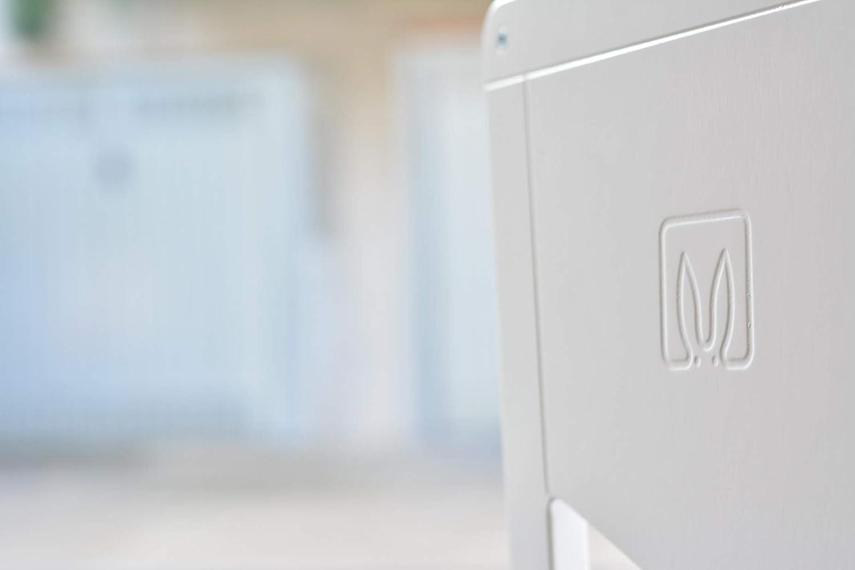 MOKA W 2.0 Montessori Lernturm H/öhenverstellbare Ablagen Lernturm Kitchen Helper