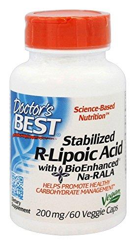 Best Stabilized R Lipoic BioEnhanced Na RALA