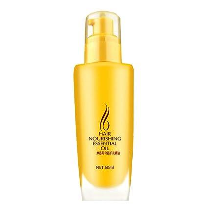 Allbesta - Aceite esencial para el cabello nutritivo, para cabello seco y frizzy, antisecado