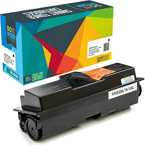 Do it Wiser Compatible Toner Cartridge Replacement for TK-1142 TK1142 Kyocera ECOSYS M2535dn M2035dn FS-1135mfp FS-1035mfp (7,200 Pages)