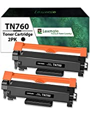 Lexmate TN760 TN730 Compatible Replacement for Brother TN760 Toner Cartridge Brother TN730 Toner Cartridge Brother TN770 Toner Cartridge TN-760 TN 760 TN-730 TN 730 TN-770 TN 770 for MFC-L2710DW MFC-L2750DW DCP-L2550DW HL-L2350DW HL-L2370DW HL-L2390DW MFC-L2730DW HL-L2395DW (High Yield, Black, 2 Pack)