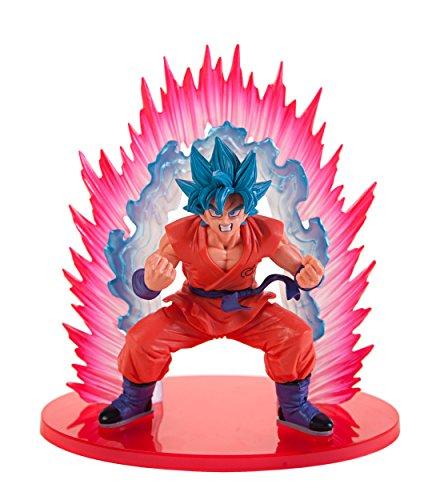 Dragon Ball Super SSJ God SS Goku Kaioken Blue Ver. PVC Figu