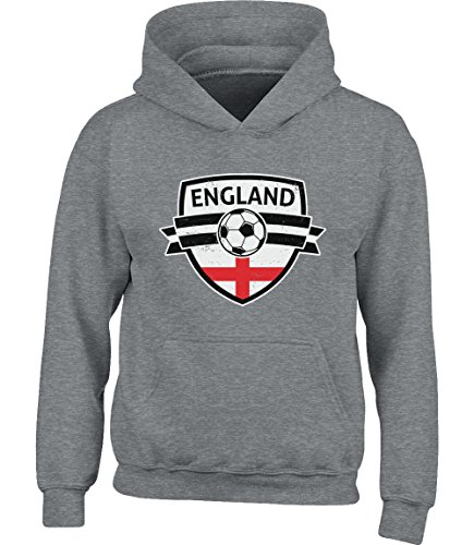 Del Coppa England Shirtgeil Inghilterra Hoodie Come On Grigio Mondo Youth AqnTgvw