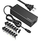 Powseed Universal 18V-20V 90W Laptop AC Power Adapter Charger With 5V2a USB for Notebook Acer Asus Toshiba Dell Lenovo IBM HP Compaq Samsung Sony Gateway Fujitsu Compatible Models