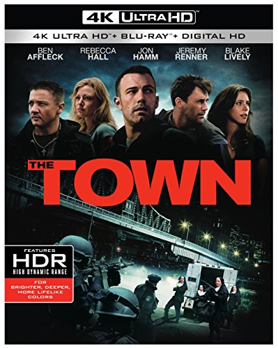 4K Blu-ray : The Town (4K Mastering, Ultraviolet Digital Copy, 2 Pack, 2 Disc)