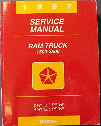1997 Service Manual, Ram Truck 1500-3500 2-wheel drive, 4 wheel-drive