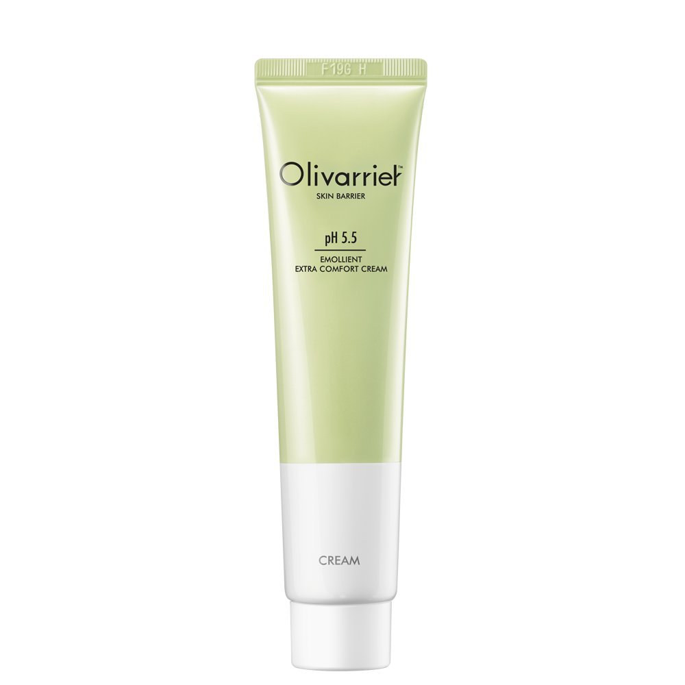 Olivarrier エモリエント エクストラ コンフォート クリーム 30mlベタつかず皮膚バリアを強化するパンテノール5%、オーガニックシアバター20%配合の無香料の鎮静効果のある全スキンタイプ対応のフェイシャルクリームです。   B01N7BHF1S