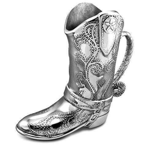 (Wilton Armetale Cowboy Boot Pitcher)
