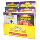 Scholastic Science Vocabulary Readers: Wild Weather, 36 books/Six Titles & Teaching Guide (0545015987)