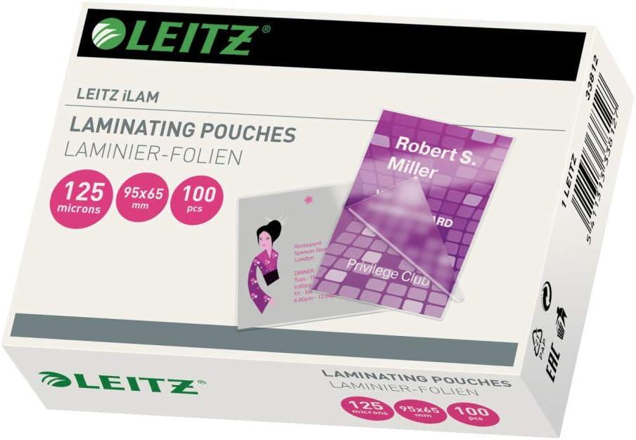 Leitz iLAM Heißlaminierfolien A6 125 mic 100er Pack