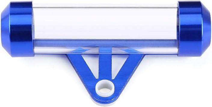Elerose Universal Secure Tube Tax Disc Zylindrischen Halter Für Motorrad Blau Auto