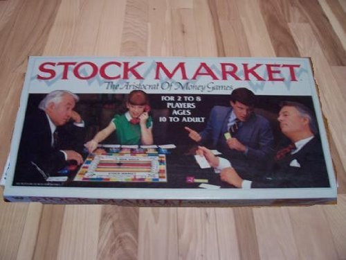 Stock Market Board Game 1981