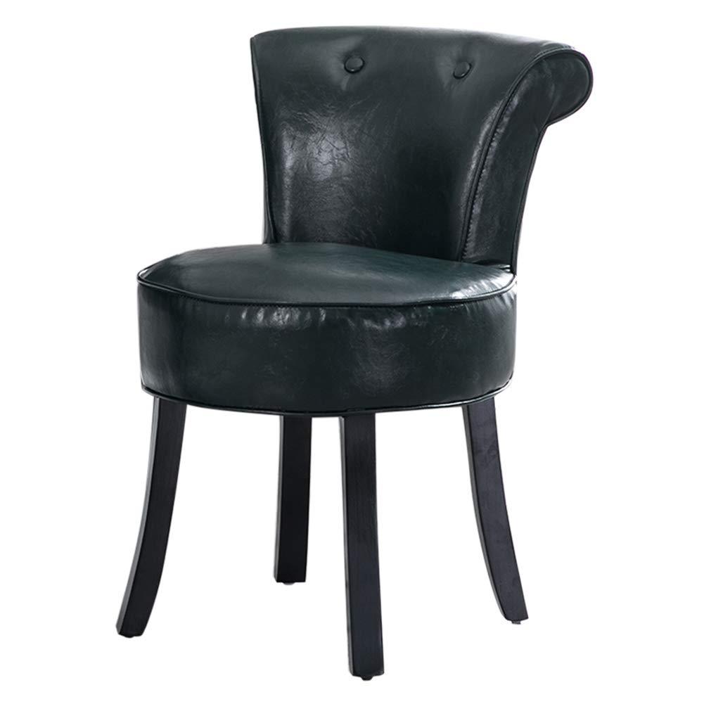 Amazon.com: Cómodo taburete de tocador europeo, silla de ...