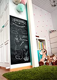 Con-Tact Brand Adhesive Chalk Board Covering, 18 Inches by 6 Feet, Black