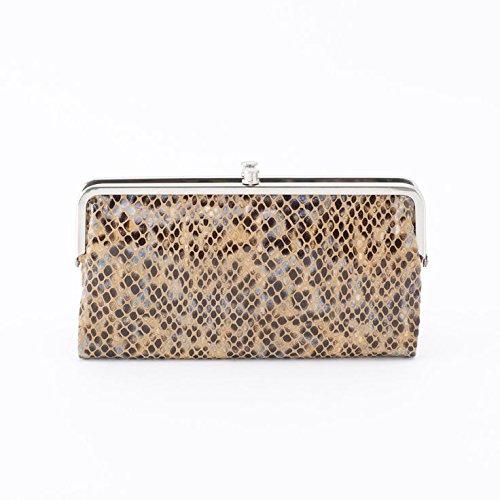 Hobo Womens Lauren Vintage Wallet Clutch Purse (Harvest Snake)