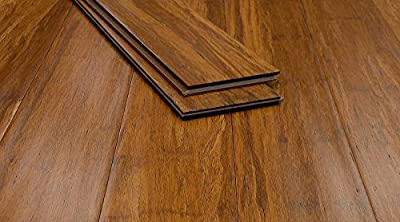 Bamboo Flooring Carbonized Antiqued Click-Lock 3ft Strand