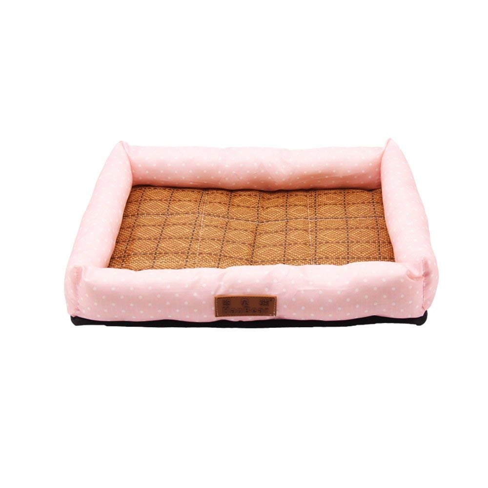 3 X-Large 3 X-Large Pet Sofa Doghouse Summer Cool Mat Ice Silk Mat Nest Dog Bed Pet Sleeping Bag Cat Supplies Cat Nest Kennel Resistance To Bite (color   03, Size   X-Large)